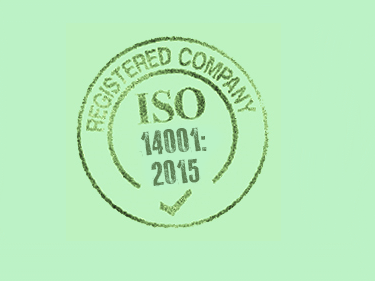 ISO 14001:2015 Internal Audit Stamp