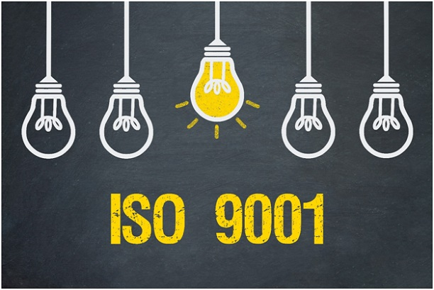 ISO 9001 lightbulb idea