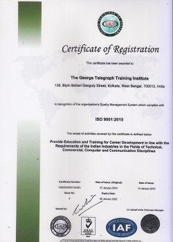 ISO Certificate of Registration Example 1