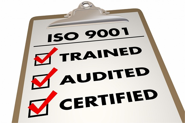 ISO certified checklist