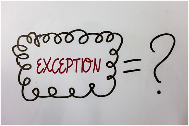 Exceptions to ISO